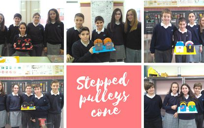 stepped pulleys cone | 1º ESO #miralrededor