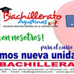 Abrimos nuevo grupo para 1º de Bachillerato | ¡Ven con nosotros!