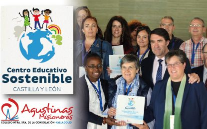 Agustinas Valladolid recibe el sello ambiental «Centro Educativo Sostenible»