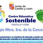 Centro Educativo Sostenible hasta el año 2023