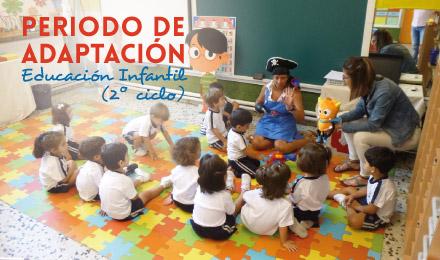 Periodo de Adaptación   2º ciclo Educación Infantil 2020-2021