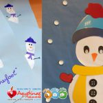 Snowman and snowfoot | Escuela Infantil