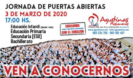 AgustinasVA-2020_Jornada-Puertas-Abiertas